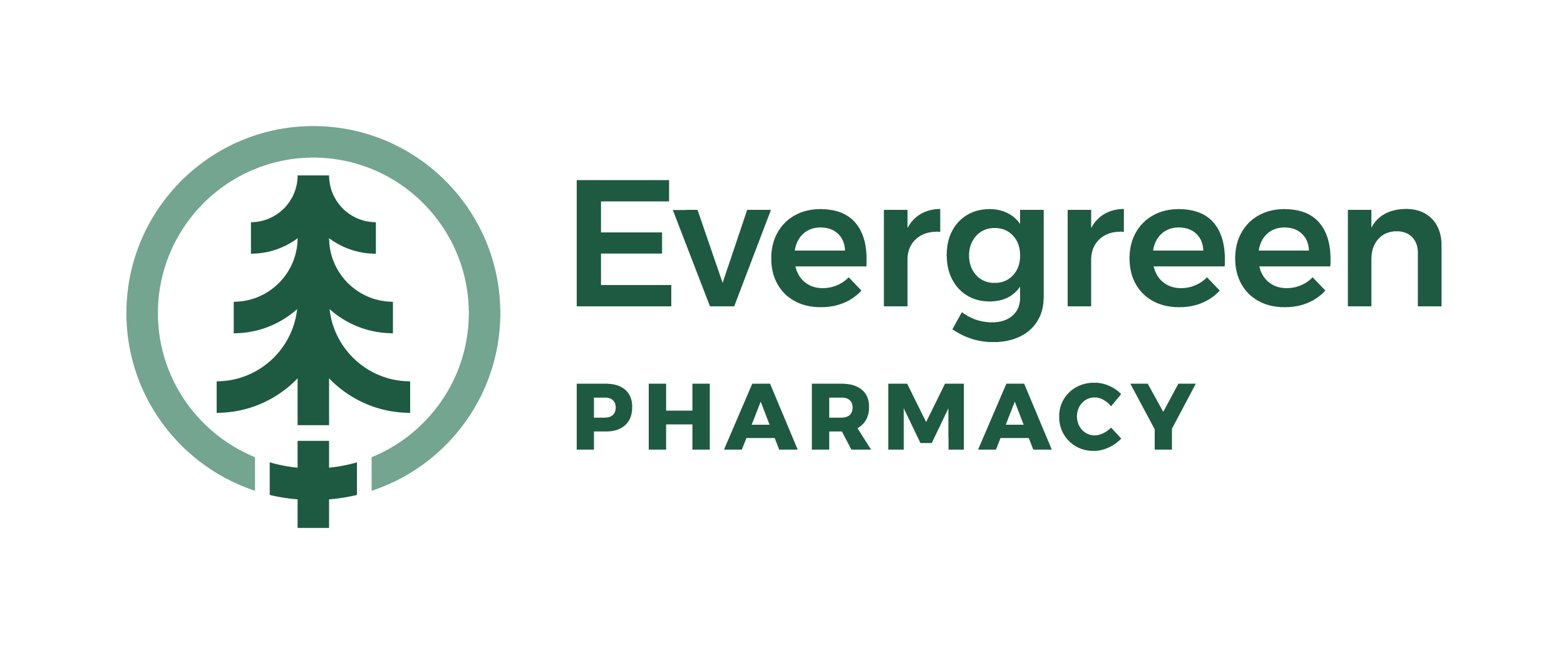 Evergreen Pharmacy Logo